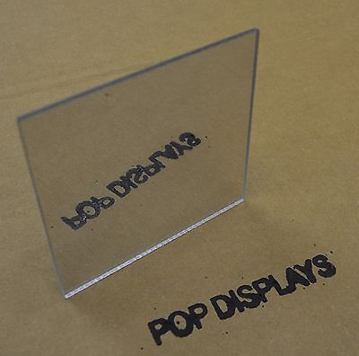 "Acrylic Mirror Plexiglass Sheet ( Safety Mirror ) 1/8"" x 16"" x 16"""