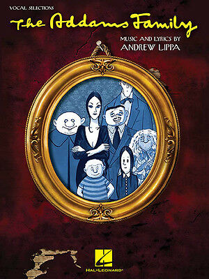 The Addams Family Musical Vocal Selections Piano Sheet Music 14 Songs Book NEW
