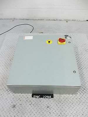 Hoffman CSD24248 Steel Enclosure with 600V 30A Disconnect (ENC2294)