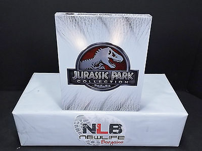 Jurassic Park Collection Blu ray Slip Cover NO MOVIE (Collectible Item)