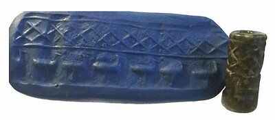 Ancient Near Eear Eastern Steatite Cylinder seal. • CAD $407.62