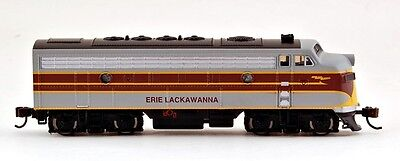 Bachmann N Scale Train F7 A Diesel Locomotive DCC Equipped Erie Lakawanna 63754