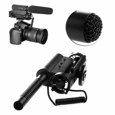 NEW SGC-598 Interview Mic Microphone Photography Camera DV For Nikon Canon Sony