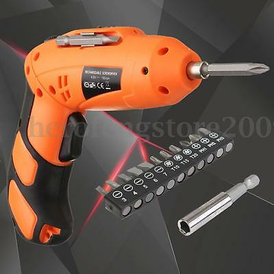 Electric Battery Drill Shank Star Hex Screwdriver Power Cordless Wireless Tool