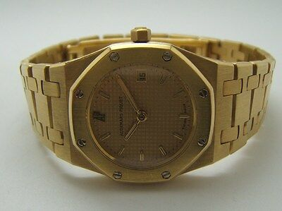 Audemars Piguet Royal Oak Pour Dame En Or 18K Pc4