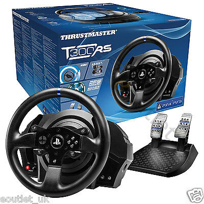 Thrustmaster T300 RS Official Force Feedback Steering Wheel for PS4/PS3/PC