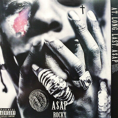 "A$Ap Rocky "" At.long.last. "" New Uk Lp Asap *** Coloured Vinyl ***"