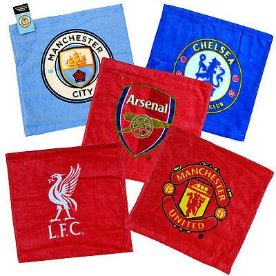 Official Football Club - FACE CLOTH (Wash Flannel/Bath/Body) (100% cotton) Gift