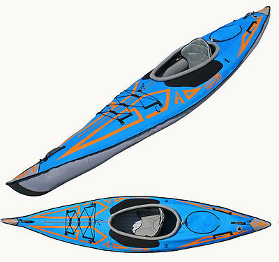 Advanced Elements Ocean Blue AE1009B 13 ft  Expedition Inflatable Kayak w/Lumbar