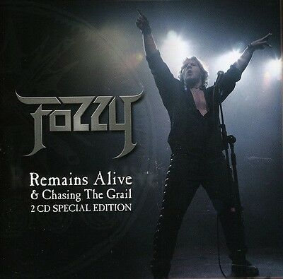 Fozzy - Chasing the Grail & Remains Alive [New CD] UK - Import