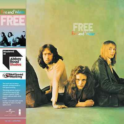 FREE FIRE AND WATER 180 GRAM VINYL SET HALF-SPEED MASTERED (July 1st 2017)