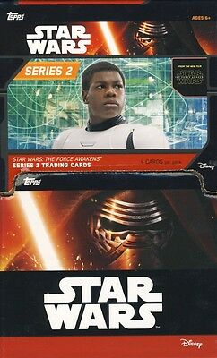 2016 Topps Star Wars The Force Awakens Series 2 60ct Gravity Feed Box