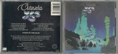 YES - Classic Yes CD 1981 JAPAN EARLY PRESS SD 19320-2 ATLANTIC RARE