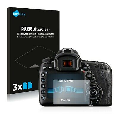 6x Savvies Screen Protector for Canon EOS 5D Mark IV Ultra Clear