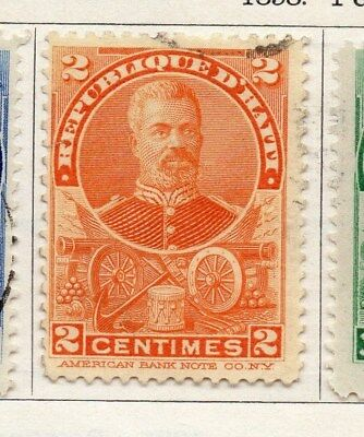 Haiti 1898 Early Issue Fine Used 2c. 100898