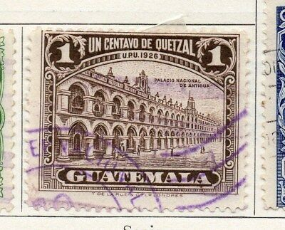Guatemala 1929 Early Issue Fine Used 1c. 100951
