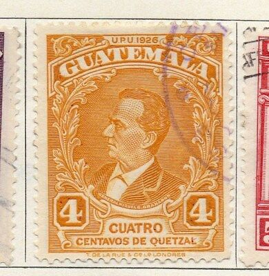 Guatemala 1929 Early Issue Fine Used 4c. 100954