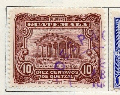 Guatemala 1929 Early Issue Fine Used 10c. 100956
