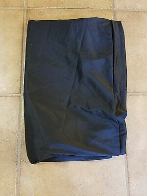 Black Tablecloth Trade Show Table Cloth Fits 3 X 6 table Table cover (lot#2)
