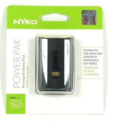 86034 NYKO Xbox 360 NiMH Battery Pack for Microsoft Wireless Controller