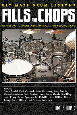 Fills & Chops Ultimate Drum Lessons Learn How to Play Hudson Music Video DVD NEW