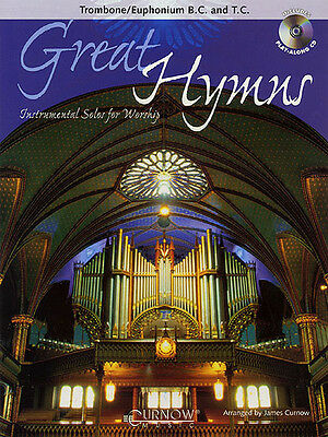 Great Hymns Trombone Solo Christian Sheet Music Play-Along Book CD Pack NEW