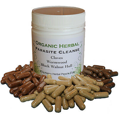 New Natural Organic Herbal Parasite Cleanse Made When Purchased