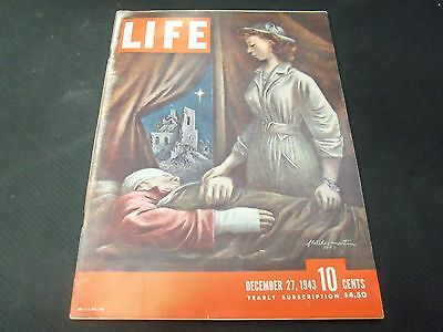 1943 December 27 Life Magazine - Fletcher Martin Front Cover - Great Ads - O6481