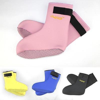3mm Neoprene Scuba Dive Swim Snorkeling Beach Adult & Kids Wet Socks Boot SP