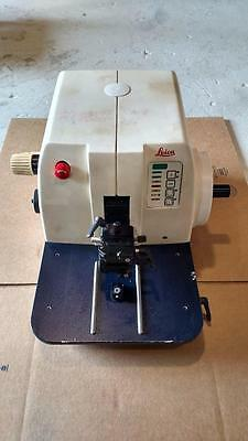 Leica RM 2155 RM2155 Rotary Microtome Knife Holder Histology Automatic