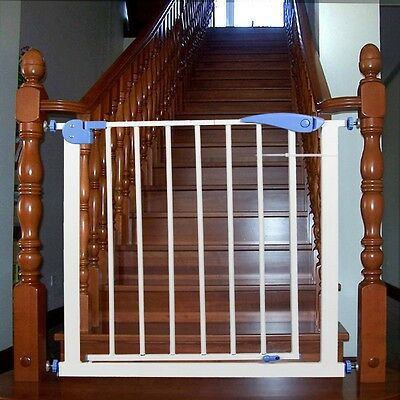 Baby Safety Gate Toddler Room Door Stairs Protective Fence Extension Kits Newly
