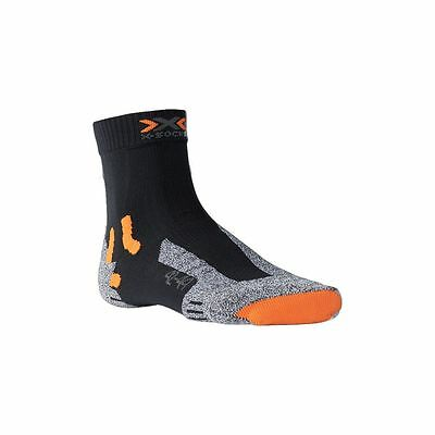 X-Socks Outdoor Trekking Wandersocken grau