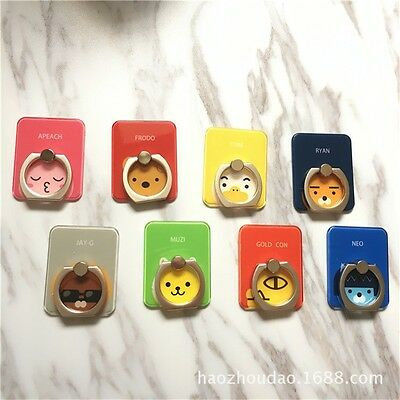 Cartoon Kakao Friends RYAN APEACH Rotating Stand Holder Finger Ring For Phone