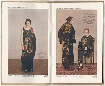 1928 Liberty & Co. London Catalog of Textiles, Ceramics, Jewelry & More