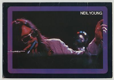Neil Young - Live In Japan JAPAN PROGRAM with POSTER March 3-11 1976