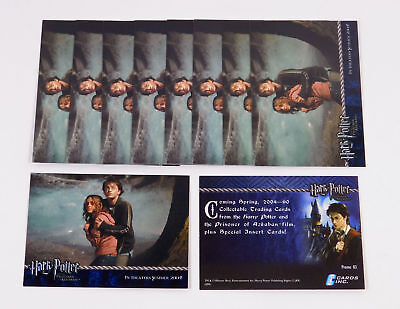 Lot of (10) 2004 Cards Inc Harry Potter Prisoner of Azkaban UK Promo Card (03)
