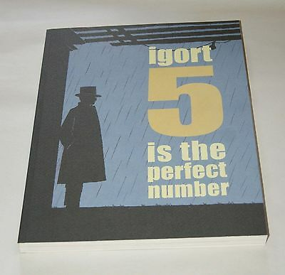 5 is the Perfect Number  by Igort  -  Graphic Novel : Crime / Mafia