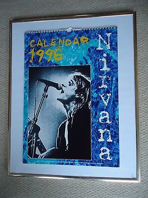 Nirvana Calendar 1996 Original 21 Year Old Vintage Valuable Rock Collectible Gem