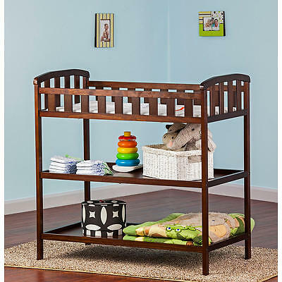 Dream On Me Emily Changing Table - Espresso