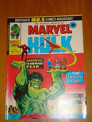 Mighty World Of Marvel #157 1975 October 4 British