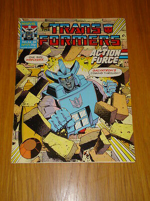 Transformers British Weekly #173 Marvel Uk Comic 1988