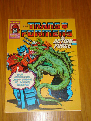 Transformers British Weekly #179 Marvel Uk Comic 1988