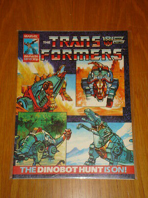 Transformers British Weekly #47 Marvel Uk Comic 1986