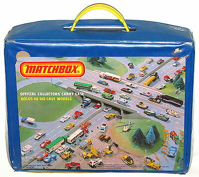 1982 Lesney Matchbox Official Collectors' Carry Case---Holds 48 Cars!!!!