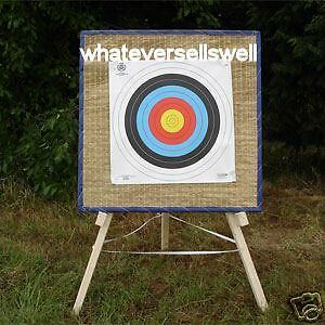 STRAW ARCHERY TARGET Boss & STAND Recurve Compound BOW