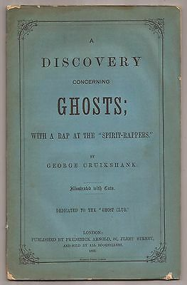 A DISCOVERY CONCERNING GHOSTS by George Cruikshank 1863