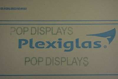 "PLEXIGLASS  ACRYLIC SHEET CLEAR 3/8"" x 6"" x 6"""