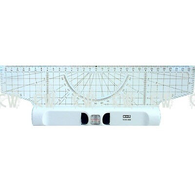 Aristo Mobius & Ruppert Rolling Ruler & Protractor 30cm.For Technical Drawing.