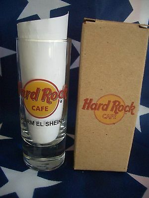 HRC Hard Rock Cafe Sharm El Sheikh Classic Logo New Style Shot Glass New