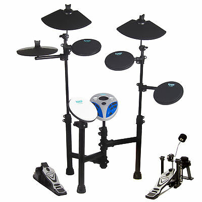 Knox 5 Drum 3 Cymbal Entry Level Electric Drum Set